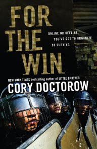 Cory Doctow For the Win Buchcover