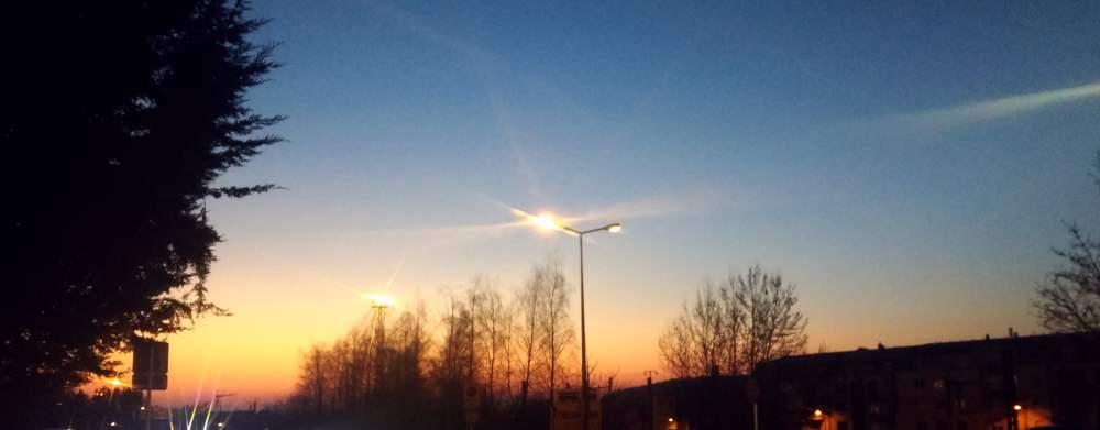 Ein Sonnenuntergang.