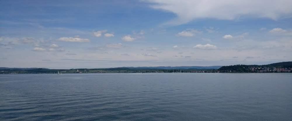 der sehr stille Bodensee