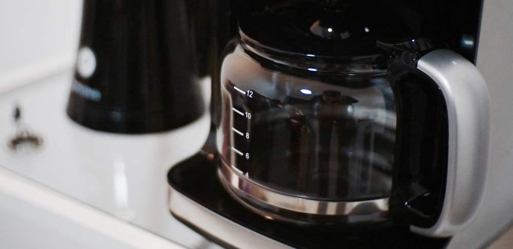 Eine Filter-Kaffeemaschine